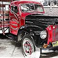 Vintage International Truck by Douglas Barnard