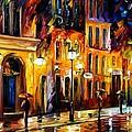 When The City Sleeps by Leonid Afremov