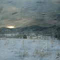 Winter Scene  by Kathy Jennings