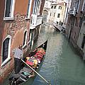 Gondola. Venice by Bernard Jaubert