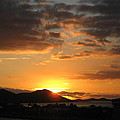 Sunset. by Joyce Woodhouse