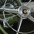 1953 Pontiac Steering Wheel by Jill Reger
