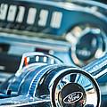 1963 Ford Falcon Futura Convertible  Steering Wheel Emblem by Jill Reger