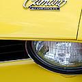 1969 Chevrolet Camaro Emblem -0241c by Jill Reger