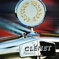 1979 Clenet Hood Ornament -176c by Jill Reger