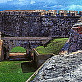 El Morro Fortress Old San Juan by Thomas R Fletcher