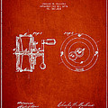 Fishing Reel Patent From 1874 by Aged Pixel