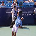 Roger Federer After 1st Slam by Rexford L Powell