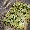Sliced Pizza With Zucchini by Sabino Parente