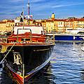 Boats At St.tropez by Elena Elisseeva