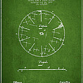Circular Saw Patent Drawing From 1899 by Aged Pixel
