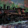 Steam Locomotive by Gunter Nezhoda