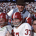 Coach Bear Bryant by Retro Images Archive