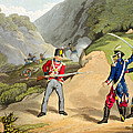 A British Soldier Taking Two French by John Augustus Atkinson