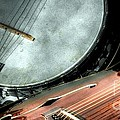 A Classic Pairing Digital Guitar And Banjo Art By Steven Langston by Steven Lebron Langston