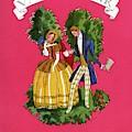 A Couple In Period Costume by Eduardo Garcia Benito