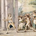 A Game Of Blind Mans Buff, C.late C18th by George Morland