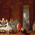 A Midnight Feast, 1866 by Frederick Daniel Hardy