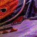 A Southern Combination Digital Banjo And Guitar Art By Steven Langston by Steven Lebron Langston