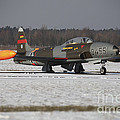 A T-33 Shooting Star Trainer Jet by Timm Ziegenthaler
