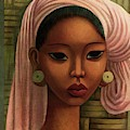 A Woman From Bali by Miguel Covarrubias