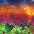 Abstract - Crayon - Utopia by Mike Savad