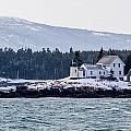 Acadia National Park Schoodic Lighthouse