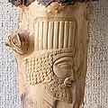 Achaemenian Soldier Relief Sculpture Wood Work by Persian Art