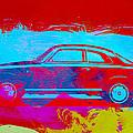 Alfa Romeo  Watercolor 1 by Naxart Studio