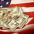 American Currency  by Les Cunliffe