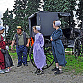 Amish Family Travelers by Brian Graybill