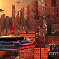 An Alien Race Migrating by Mark Stevenson