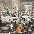 An Election Entertainment, Illustration by William Hogarth