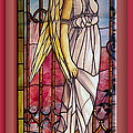 Angel Stained Glass Window by Thomas Woolworth