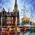 Antwerp - Belgium by Leonid Afremov