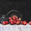 Apple Still Life by Rita Miller