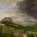 Approaching Storm  White Mountains by Alvan Fisher