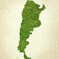 Argentina Grass Map by Aged Pixel