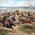 Attack Of The Horse Regiment by Victor Mazurovsky