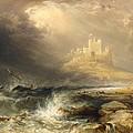 Bamborough Castle by William Andrews Nesfield