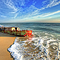 Beached Boat Morning - Outer Banks by Dan Carmichael