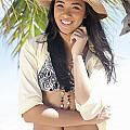 Beachy Woman by Brandon Tabiolo