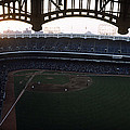 Beatiful View Of Old Yankee Stadium by Retro Images Archive