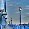 Ben Franklin Bridge Walkway