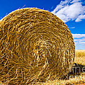 Big Straw Bales by Boon Mee