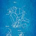 Bohlin Seatbelt Patent Art 1962 Blueprint by Ian Monk