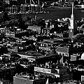 Boston Old North Church Black And White by Benjamin Yeager