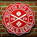 Boston Red Sox 1915 World Champions by Stephen Stookey