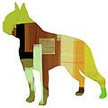 Boston Terrier by Naxart Studio