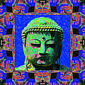 Buddha Abstract Window 20130130m68 by Wingsdomain Art and Photography